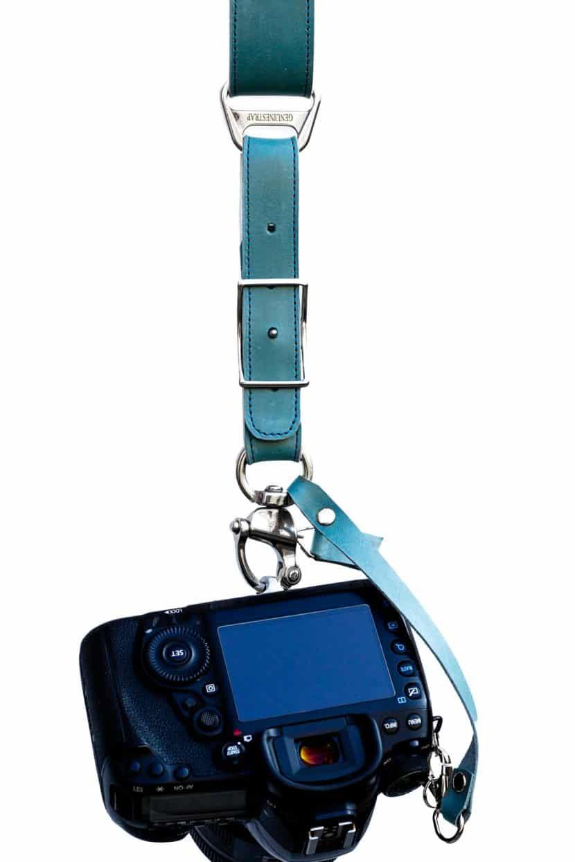 Blue Camera Strap Sirocco New Edition