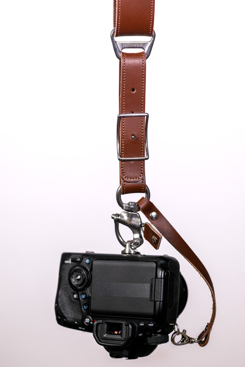 Brown Camera Strap Garioch New Edition
