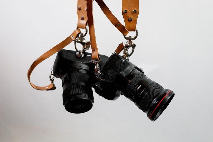 Brown Camera Strap | RAW SIENA EDITION