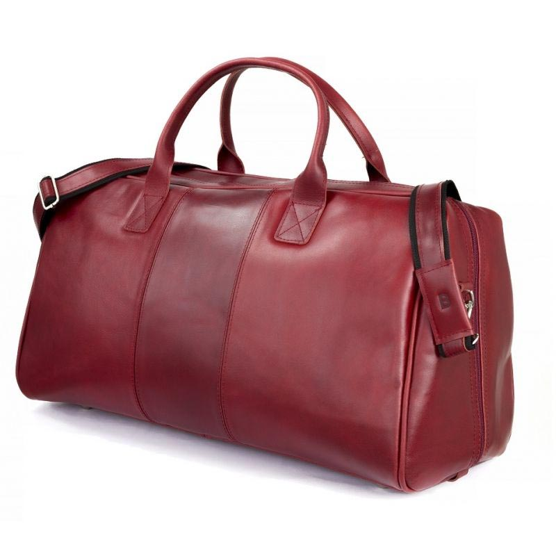GERONE Red leather bag