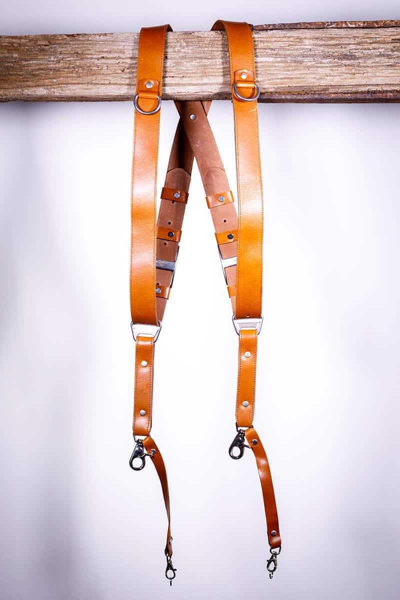 Garioch leather strap light brown