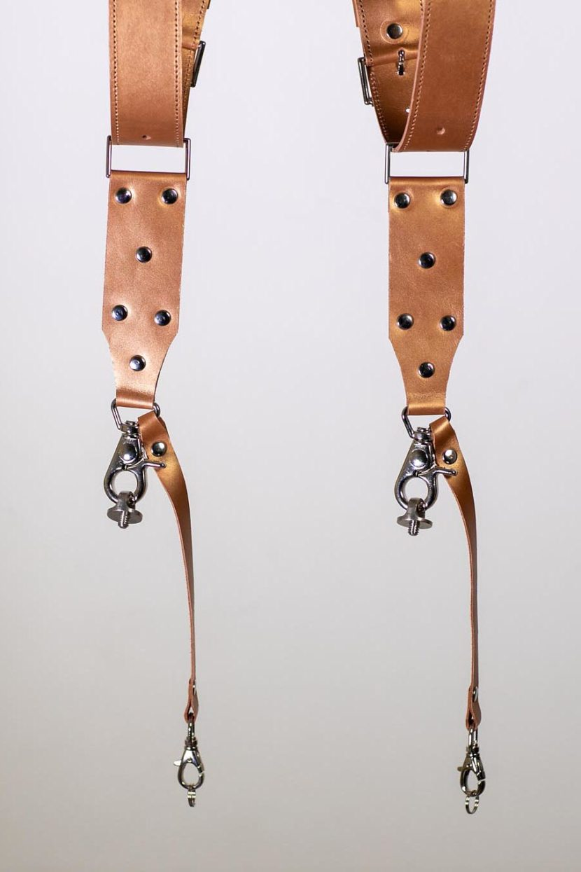 Metallic Color | LEATHER CAMERA STRAP