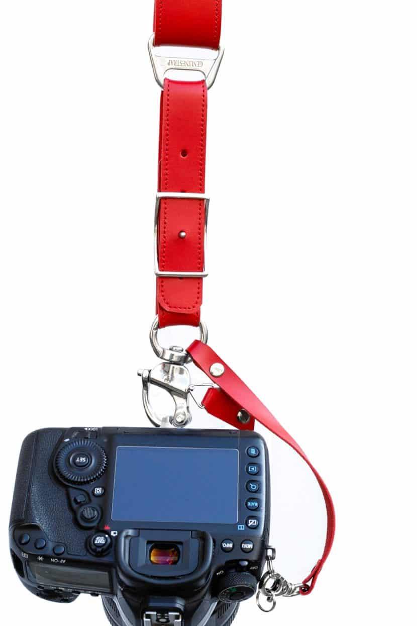 Red Camera Strap campari New Edition