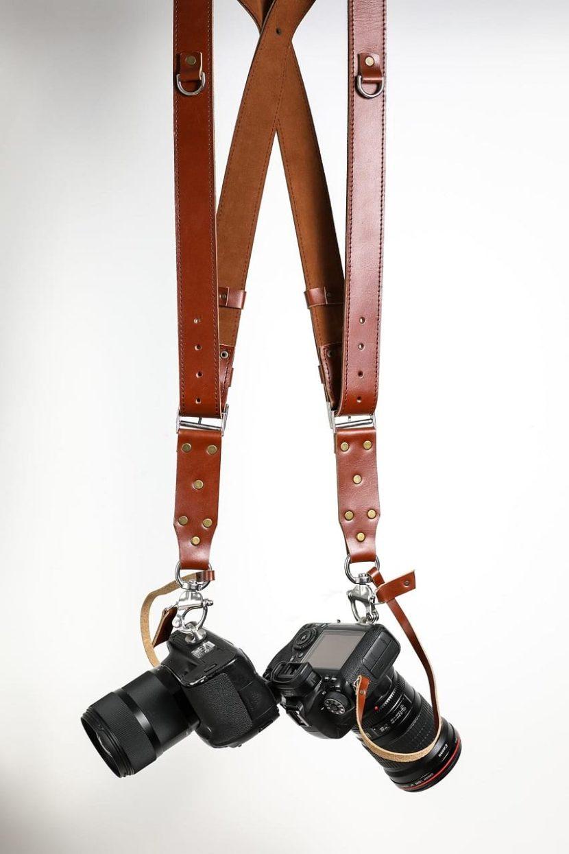 Brown Camera Strap | GARIOCH EDITION
