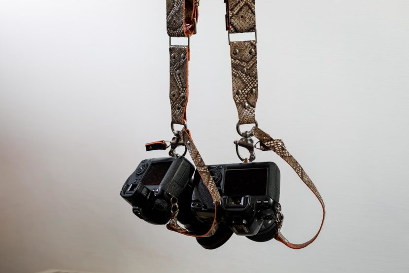 Brown Camera Harness | OYO BEAN LIMITED EDITION