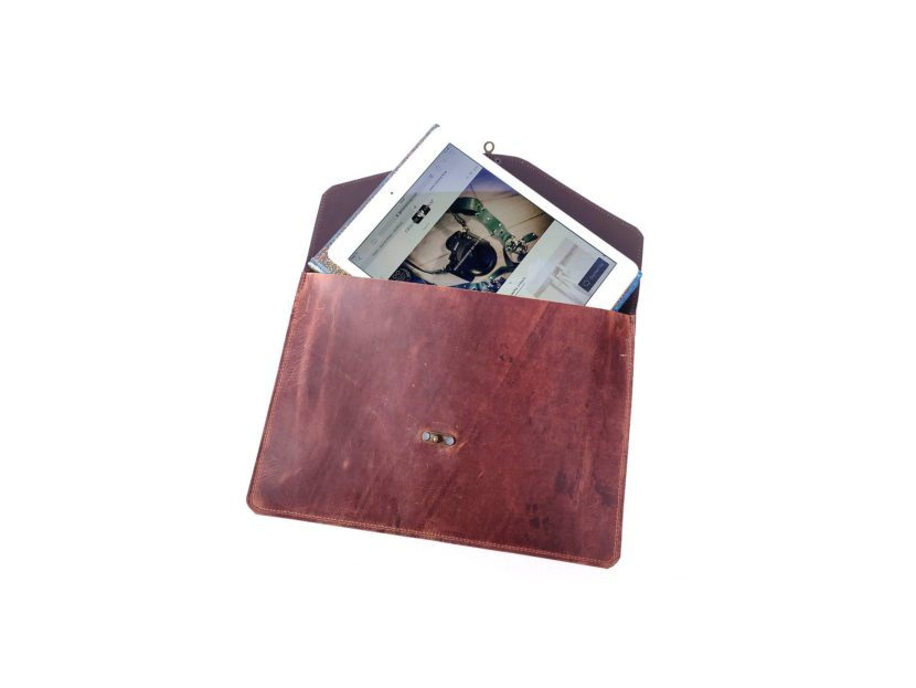 Leather laptop / Tablet sleeve