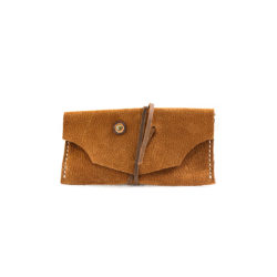 brown Leather Tobacco Pouch