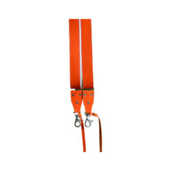 orange leather camera strap product