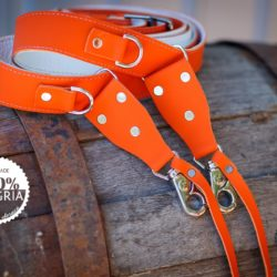 Orange Camera Strap | SANGRIA EDITION