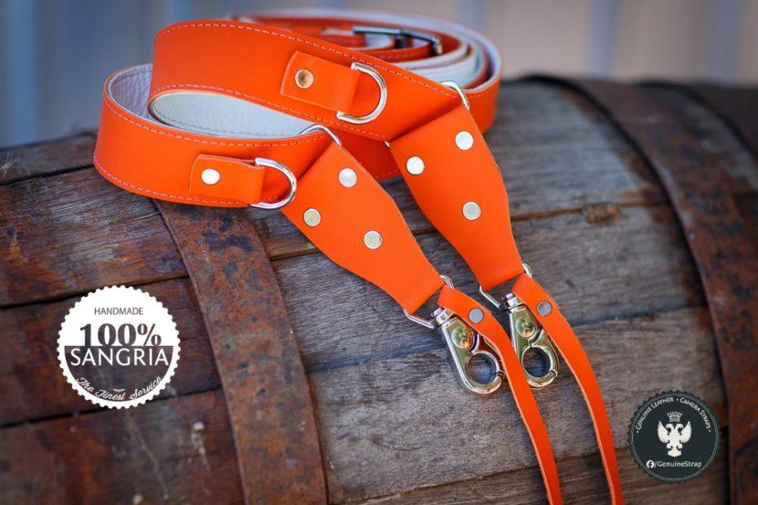 Orange Camera Strap | SANGRIA EDITION