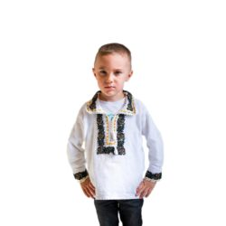 Hand Embroidered Beaded Kid Shirt