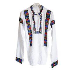 Hand Embroidered Beaded Men Shirt