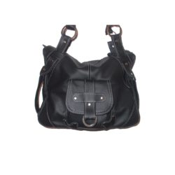 Leather Handbag Black panther