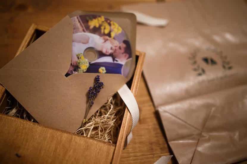 Wood USB Box DVD