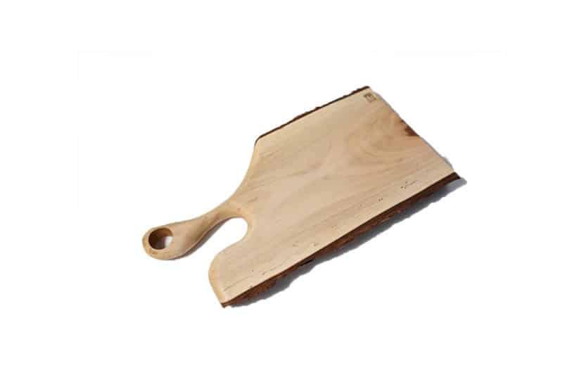 solid oak and walnut wood wood cutting board