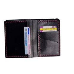 black wallet leahter genuinestrap