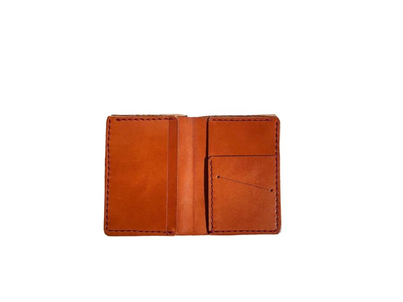 Wallet for credit card and bills - Brown