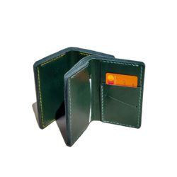 green leather wallet europe