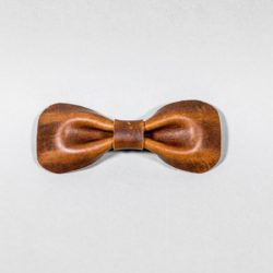 vintage Bow tie leather