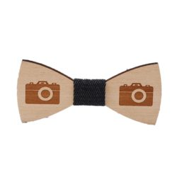 Wood Bow Tie Photographer
