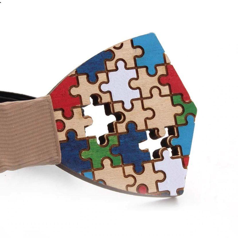Wood Bowtie puzzle