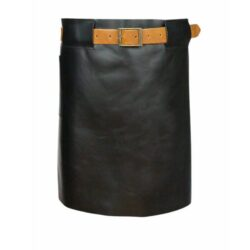 Long Waist Leather Apron