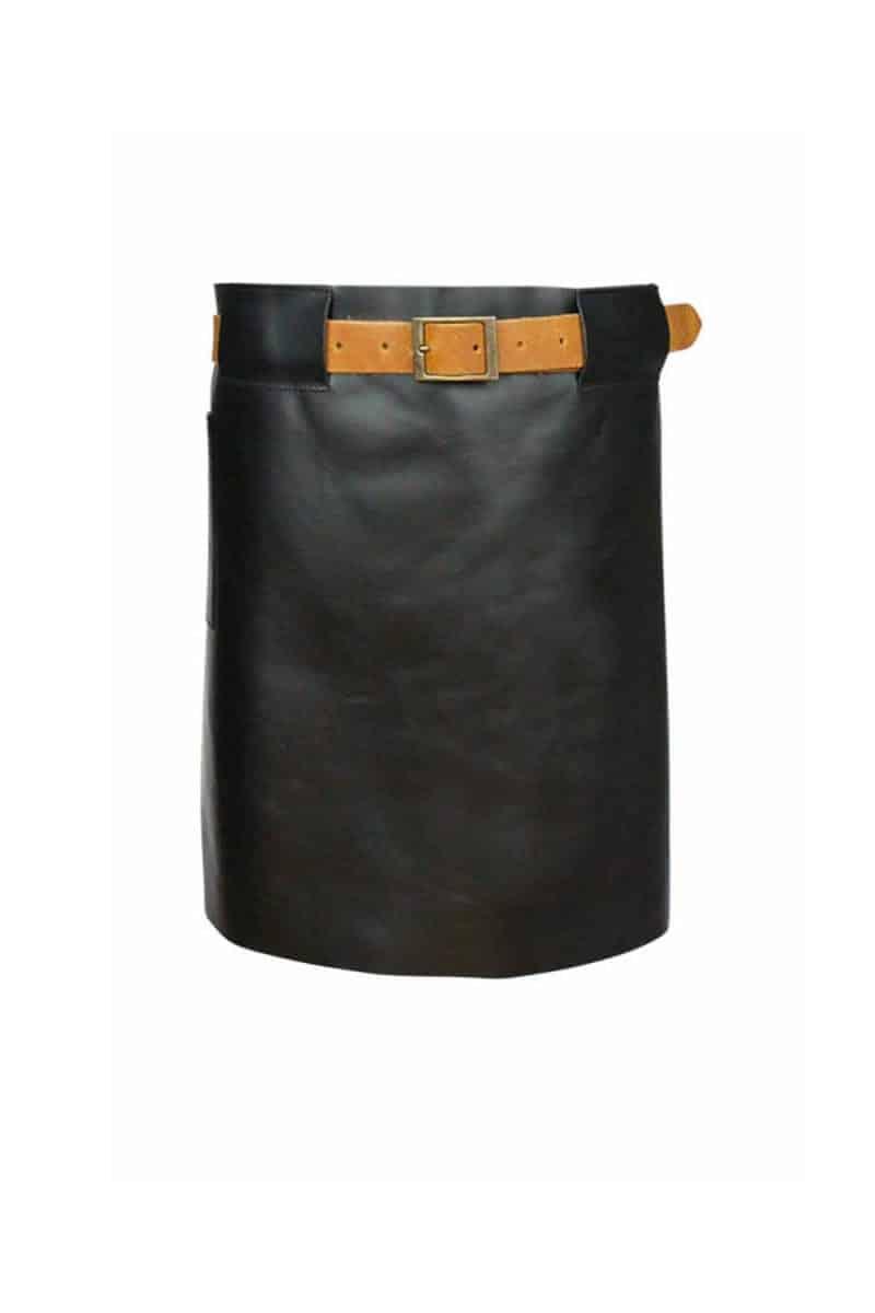 Long Waist Leather Apron