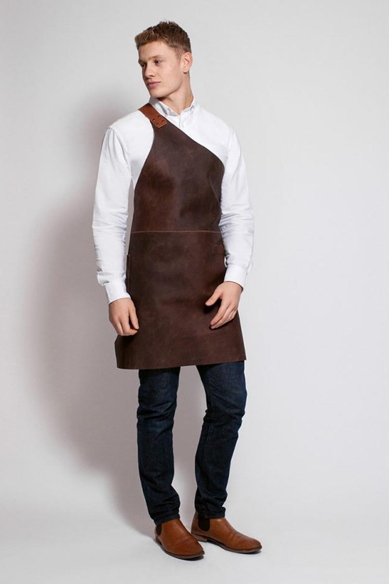 One Strap Leather Apron