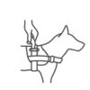 icon dog harness